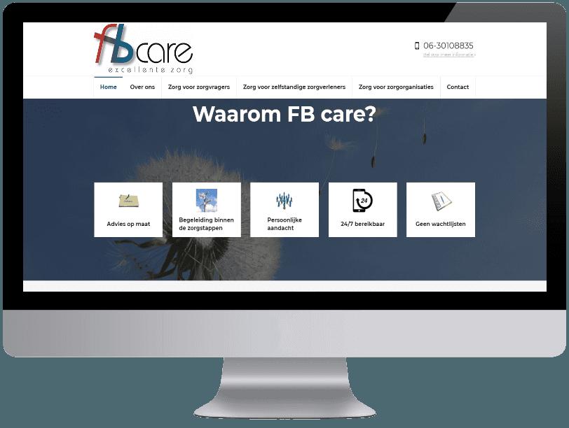 Fbcare webdesign