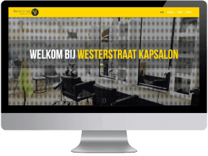 Westerstraat kapsalon webdesign