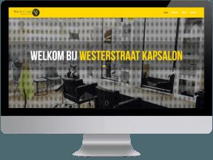 Westerstraat kapsalon webdesign